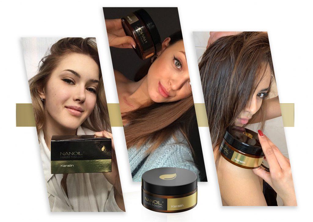 Nanoil die besten Haarmasken mit Keratin